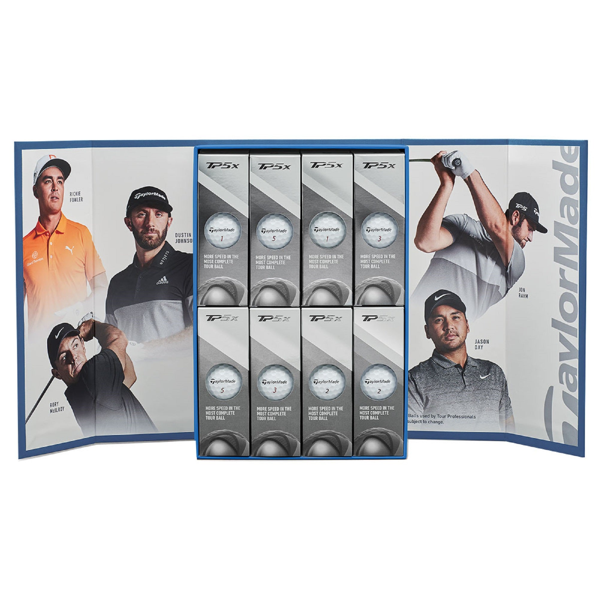 TaylorMade TP5x Athlete Edition Golf Balls - 4 Dozen For 3