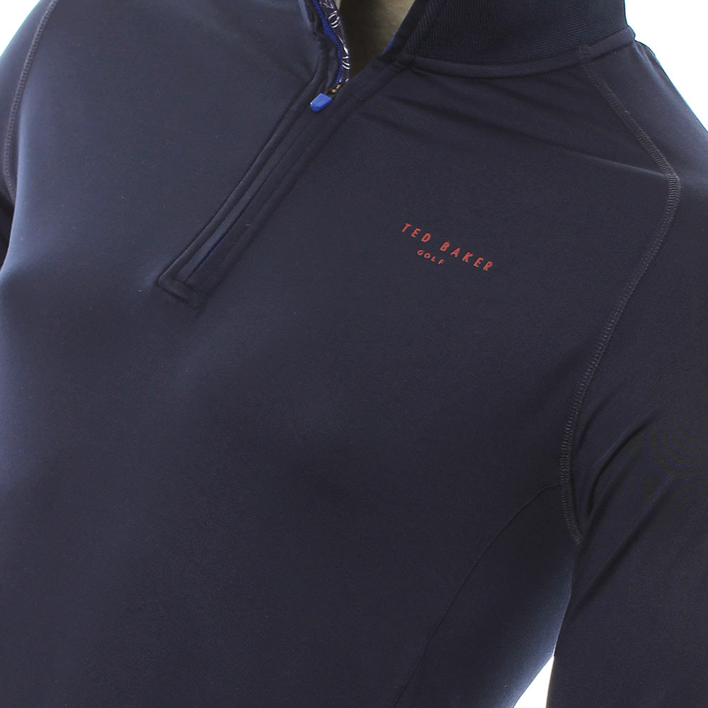 Ted Baker Par 1/2 Zip Funnel Neck 139036