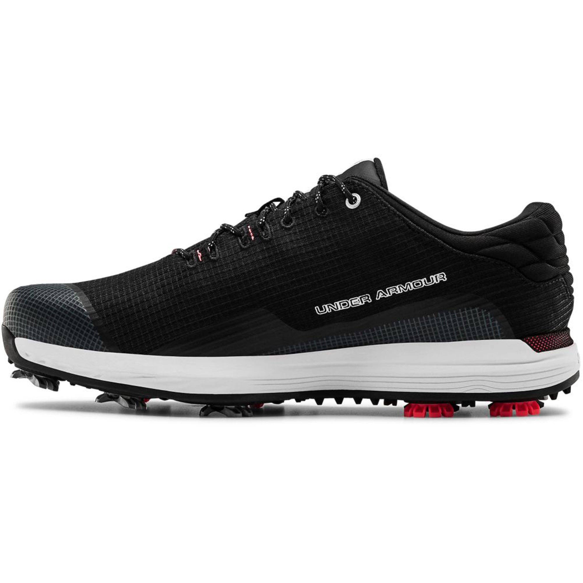 Under Armour HOVR Matchplay TE Golf Shoes 3023246 Black ...