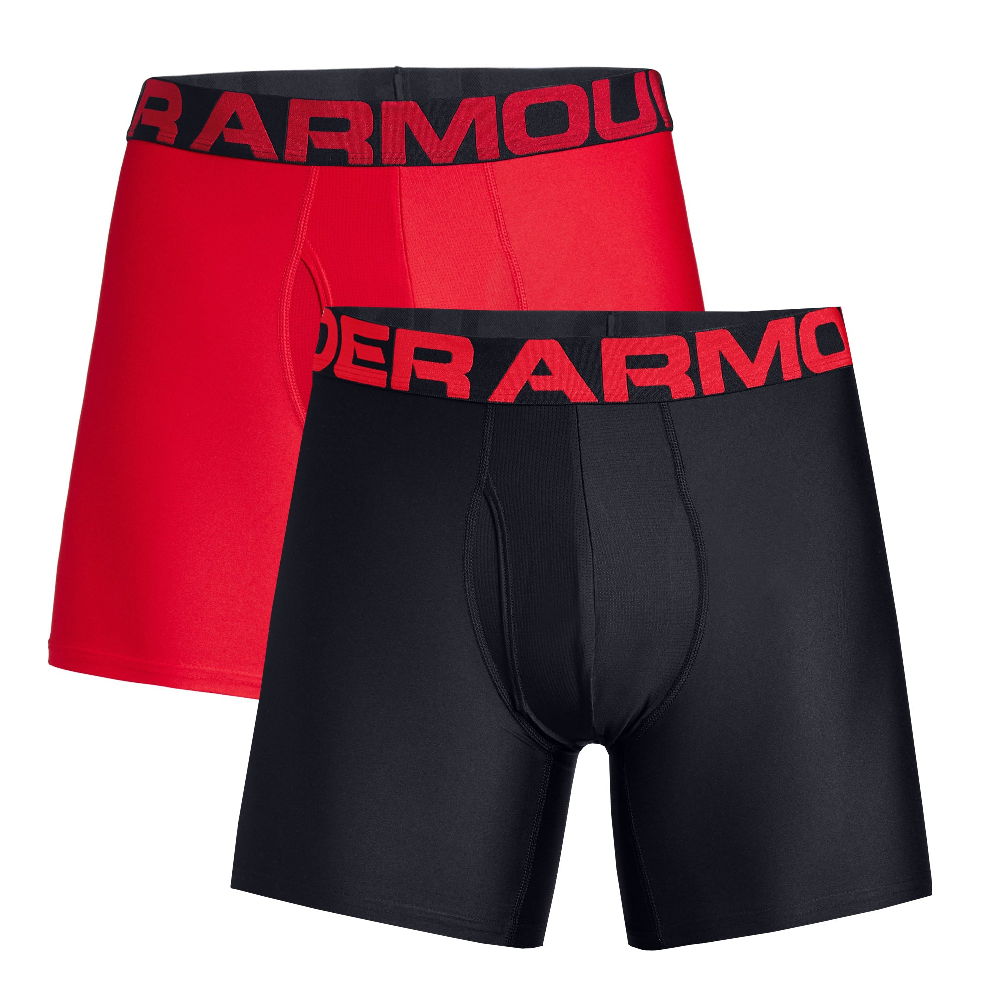 "Under Armour Tech 6"" Boxer Jock 2-Pack 1327415"