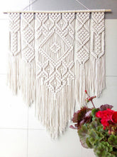 Load image into Gallery viewer, Pattern 2 - Large macrame wall hanging