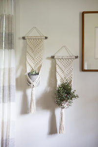 Kath macrame wall planter