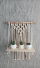 Load image into Gallery viewer, Serenity macrame shelf
