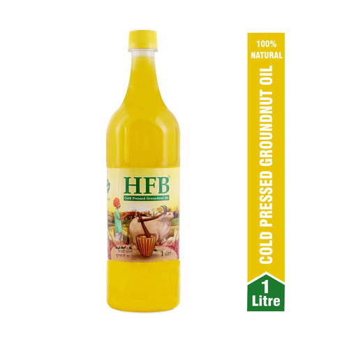 HFB Cold Pressed Groundnut Oil