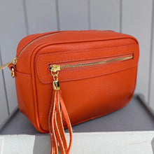 Load image into Gallery viewer, Burned Orange Crossbody Bag