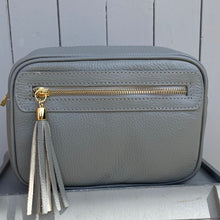 Load image into Gallery viewer, Light Grey Crossbody Bag