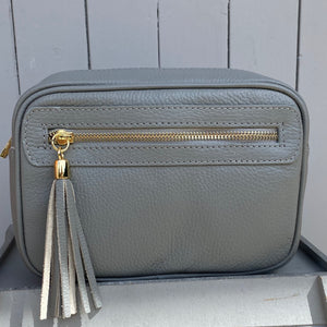 Light Grey Crossbody Bag