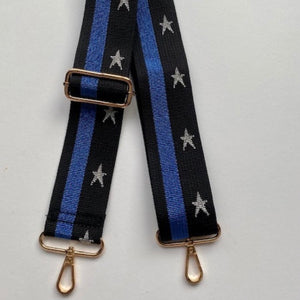 Bag Strap Colbat Silver Star Stripe