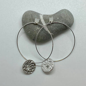 Round Hoop With Texture Star Disc