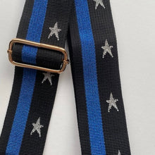 Load image into Gallery viewer, Bag Strap Colbat Silver Star Stripe
