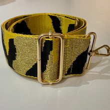 Load image into Gallery viewer, Bag Strap Mustard Camoflage