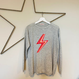Lightening Bolt Cashmere Mix Jumper