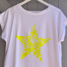 Load image into Gallery viewer, Neon Star T-shirt