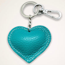 Load image into Gallery viewer, Heart Keyring