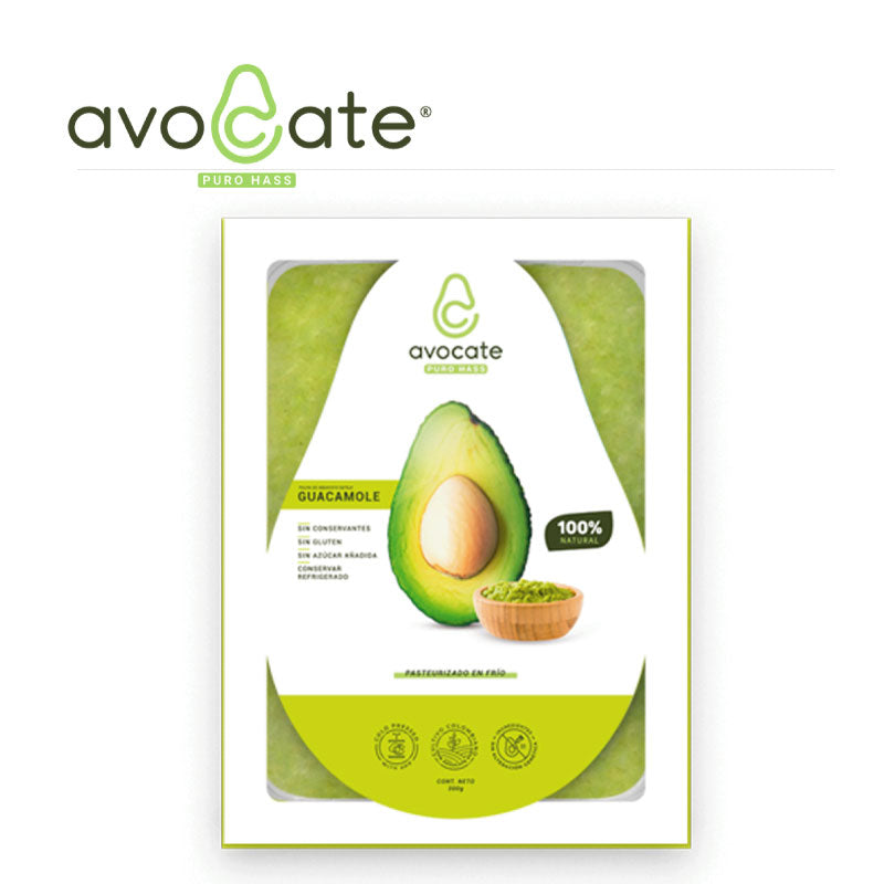 Guacamole Avocate 100% Natural x 300gr - The Restaurant Market