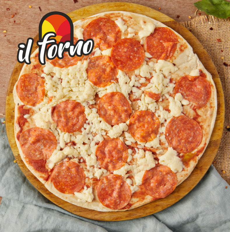 Pizza pepperoni x 2 porciones - The Restaurant Market