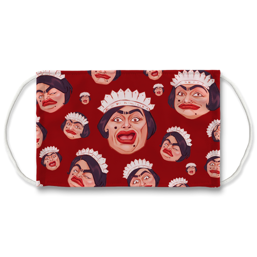 Baga Chipz - Official Merch - Sublimation Face Mask + 10 Replacement Filters