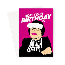 Load image into Gallery viewer, Birthday Baga Greeting Card