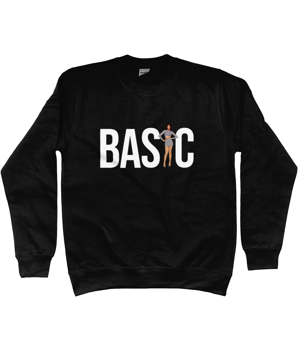 Tia Kofi - Official Merch - Basic Black Sweater