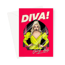Load image into Gallery viewer, Diva Greeting Card