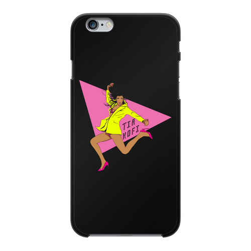 Tia Kofi - Official Merch Back Printed Black Hard Phone Case