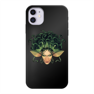 Veronica Green - Official Merch Back Printed Black Soft Phone Case