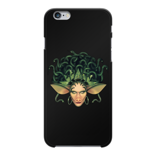 Veronica Green - Official Merch Back Printed Black Hard Phone Case