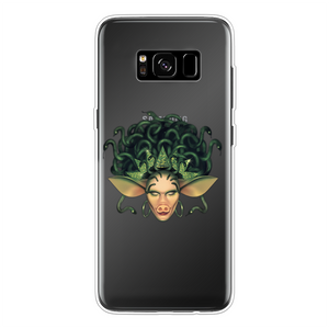 Veronica Green - Official Merch Back Printed Transparent Soft Phone Case