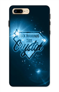 CRYSTAL - Official Merch - Fuck Diamonds Phone Case
