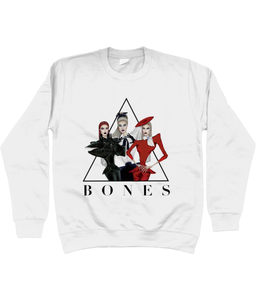 BONES - Official Merch - White Sweater