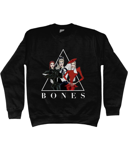 BONES - Official Merch - Black Sweater