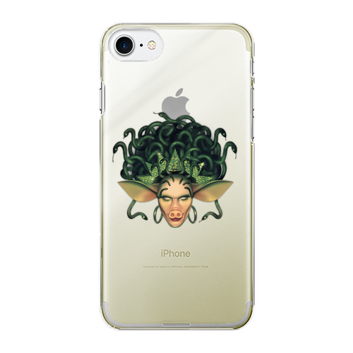Veronica Green - Official Merch Back Printed Transparent Hard Phone Case