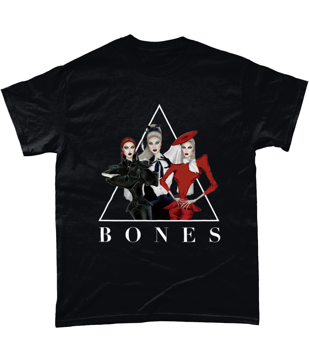 BONES - Official Merch - Black Tee
