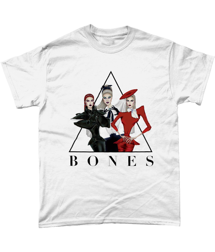 BONES - Official Merch - White Tee