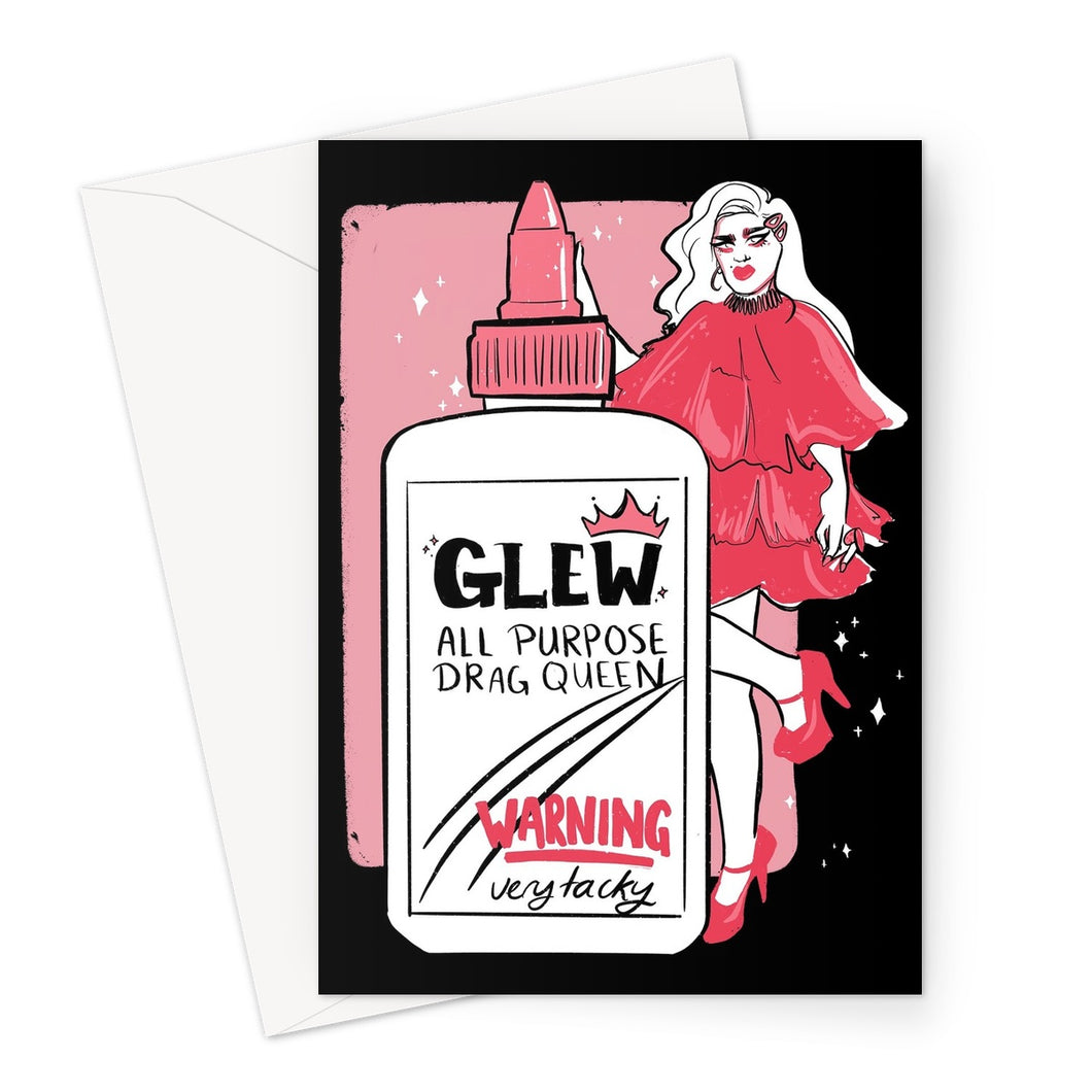 Glew! Greeting Card