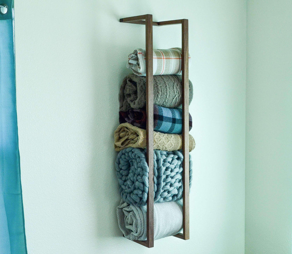 Blanket Wall Rack - THE IRON ROOTS DESIGNS- Nyrod
