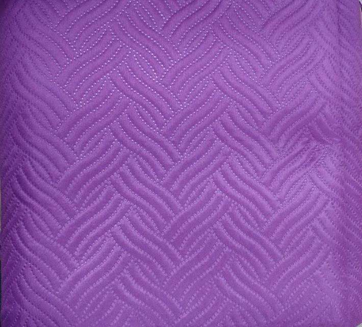 Midnight Vineyard Solid Purple Thin & Lightweight Quilted Coverlet Bedspread Set (LH188) - Nyrod Network- Nyrod