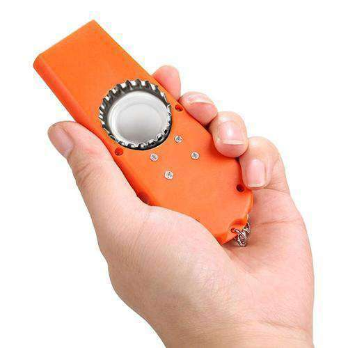 Creative 2 in 1 Shoot Style Beer Bottle Opener Cap Launcher Key Ring Key Chain - Nyrod Network- Nyrod