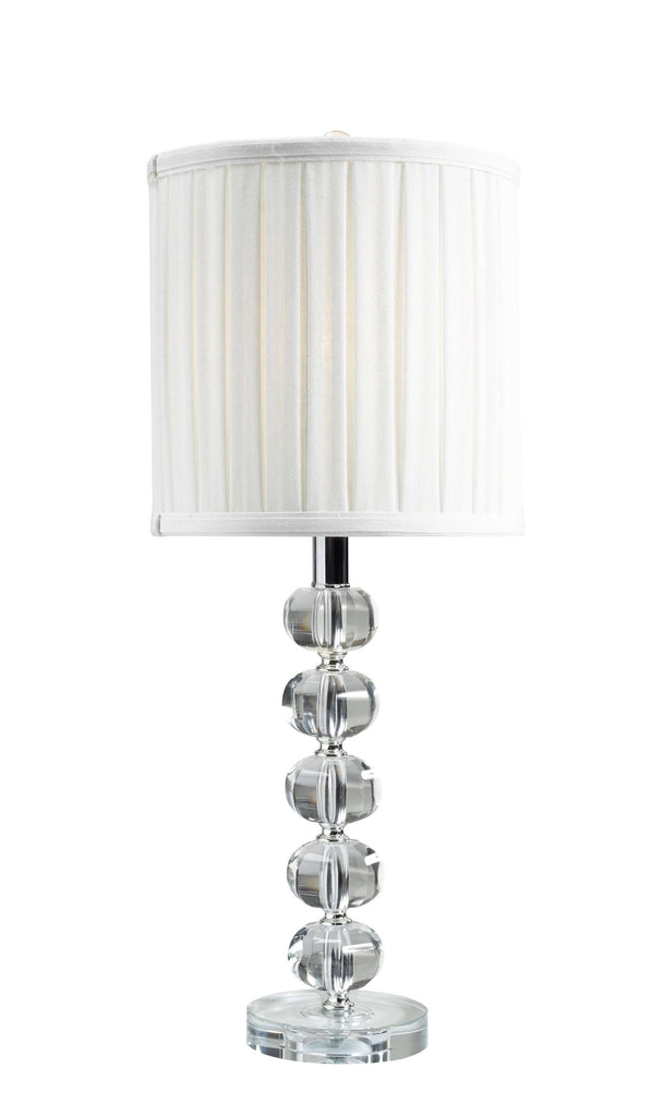 "24"" Crystal Table Lamp"