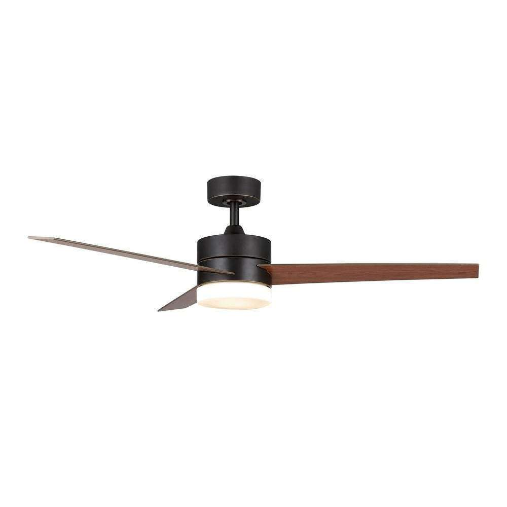 CO-Z 3 Blade 52-inch Ceiling Fan with Light Kit and Remote Control - Nyrod Network- Nyrod