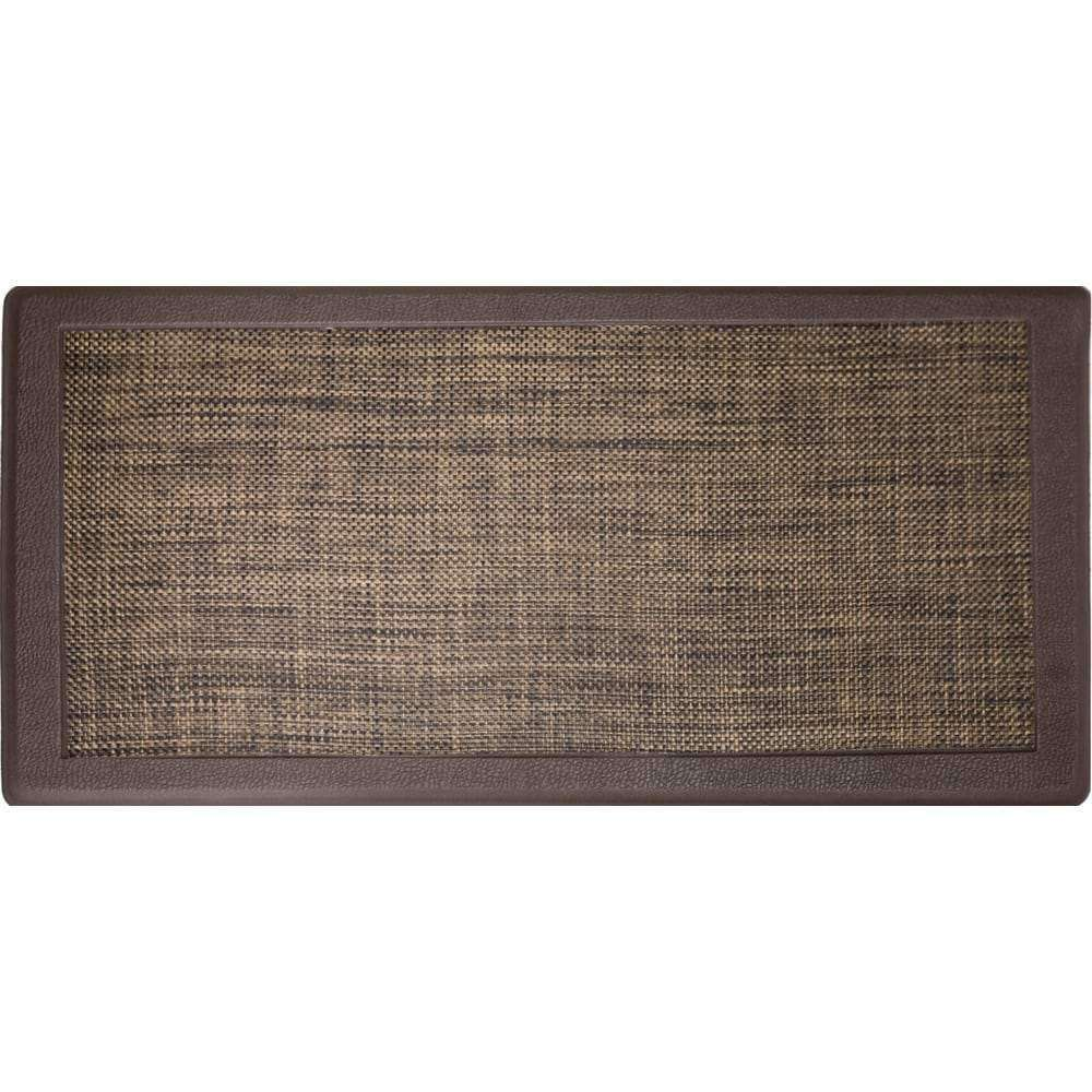 "Hillside Oversized Oil- and Stain-Resistant Anti-Fatigue Kitchen Mat (20"" x 39"") - 20"" x 39"" - Nyrod Network- Nyrod"
