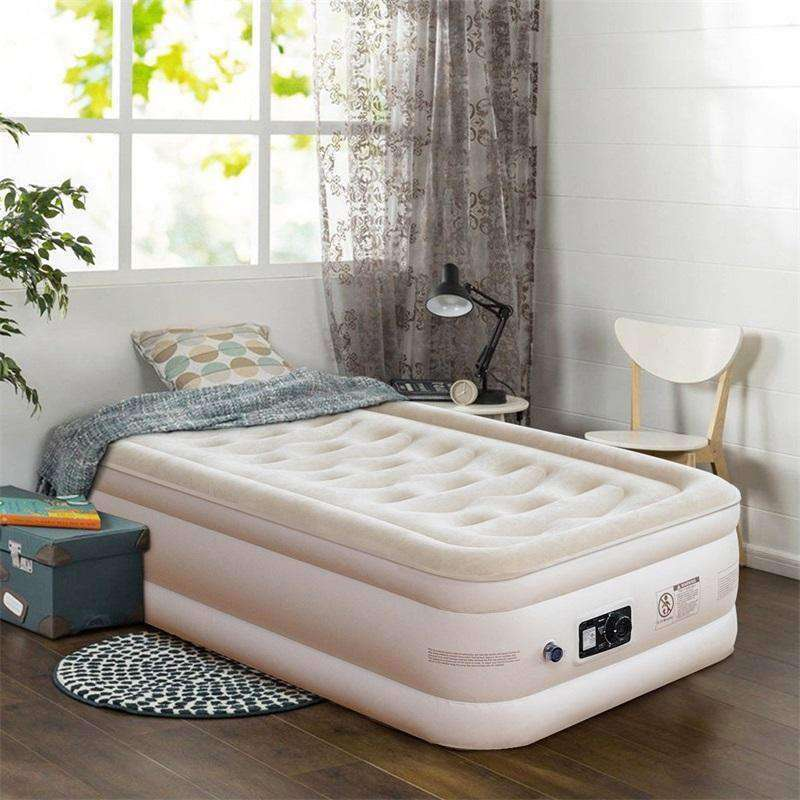 Inflatable Quilt Top Luxury Airbed Modern High Quality - Nyrod Network- Nyrod