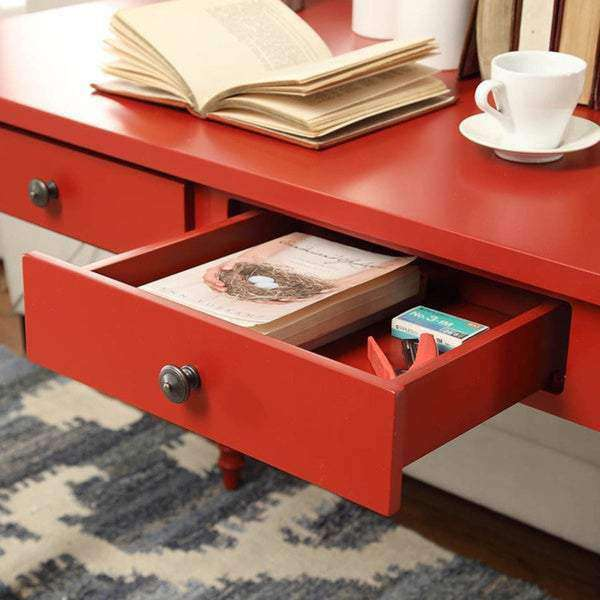Lyndale 2-Drawer Helix Legs Office Desk - iNSPIRE Q- Nyrod