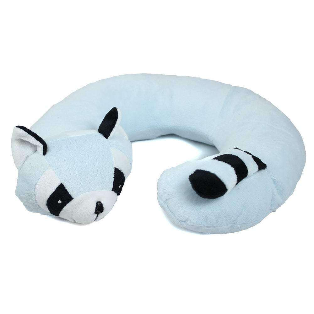 Northpoint Animal Travel Neck Pillow Raccoon - Orangeonions- Nyrod