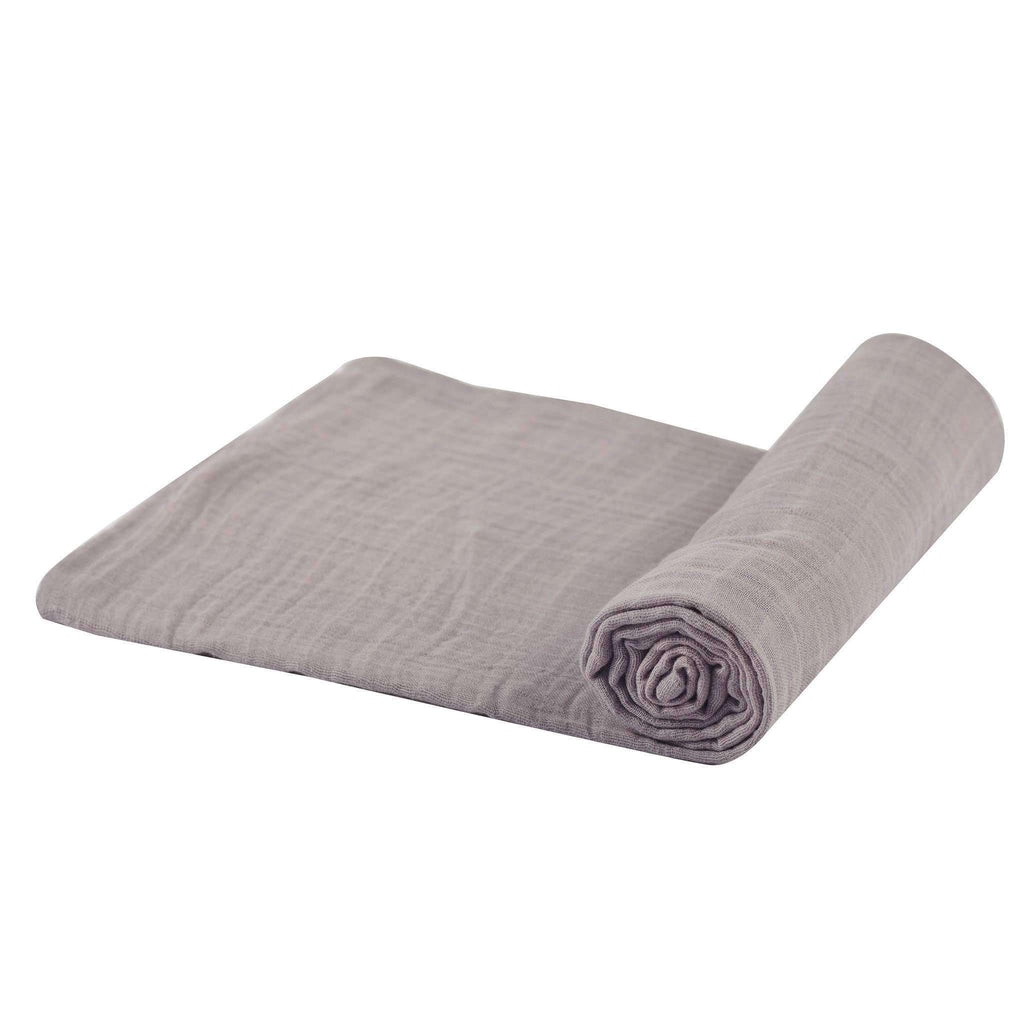 Cool Grey Swaddle - Lavender Charlie- Nyrod