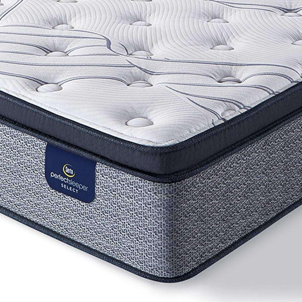 Serta Perfect Sleeper 13.75-inch Kleinmon II Pillow Top Plush Innerspring Mattress - Serta- Nyrod