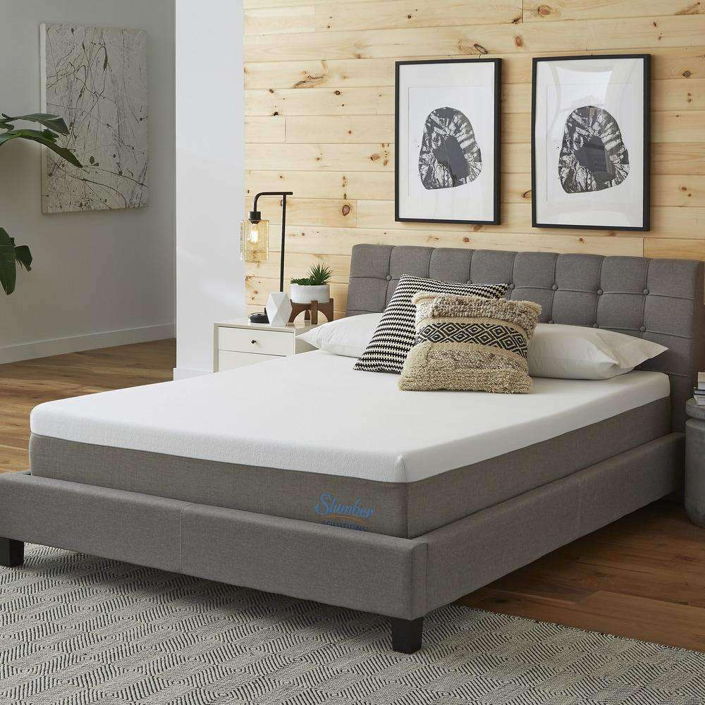 Essentials 10-inch Memory Foam Mattress - Slumber Solutions- Nyrod