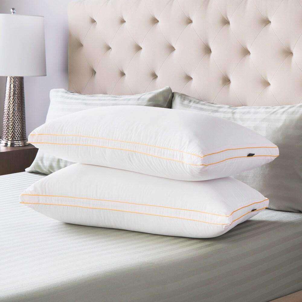 Medium Density Gusseted Pillows - SwissLux- Nyrod
