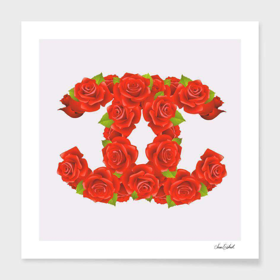 Red Roses Frame - Scorpius- Nyrod