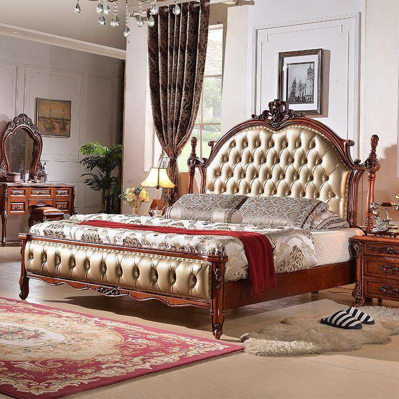 High quality Style Solid Wood Bed - Nyrod- Nyrod